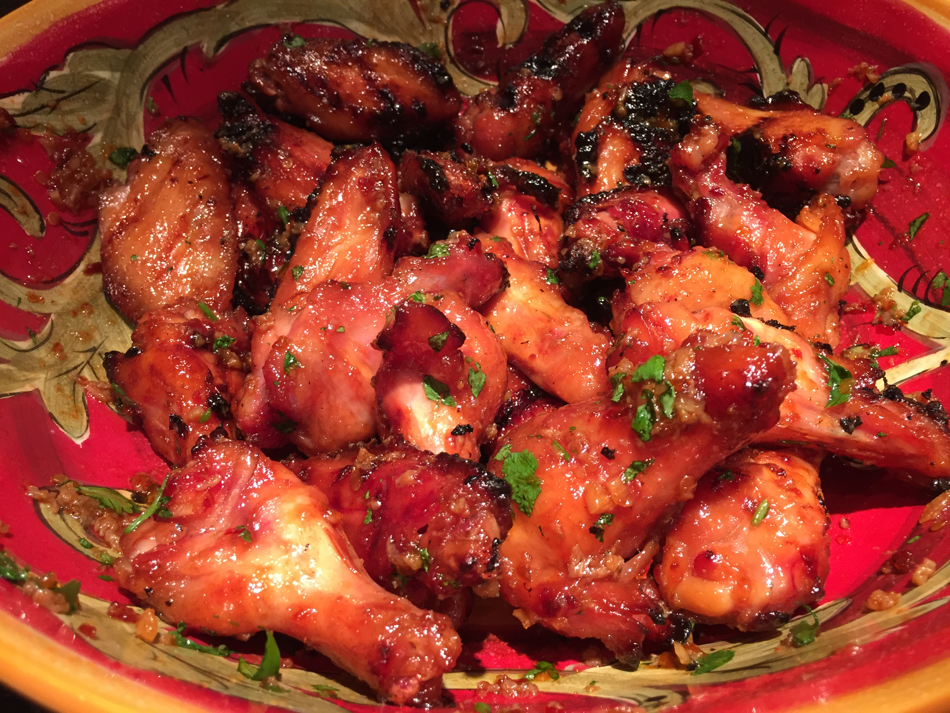 Thai Sweet and Sour Chicken Wings