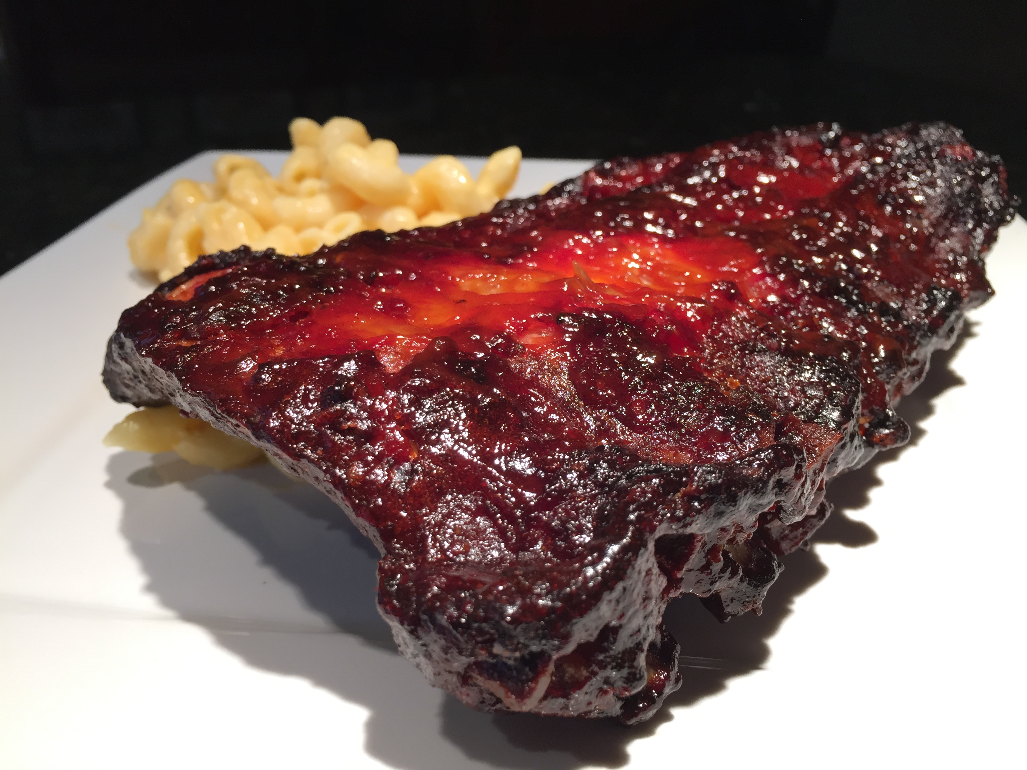 Baby Back Ribs with Gochujong BBQ Sauce