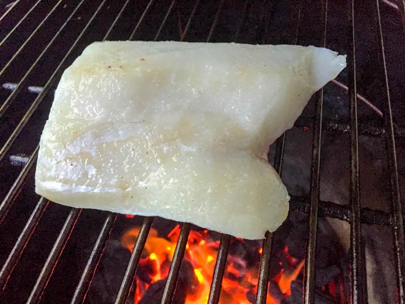 Big Green Egg Japanese Sea Bass