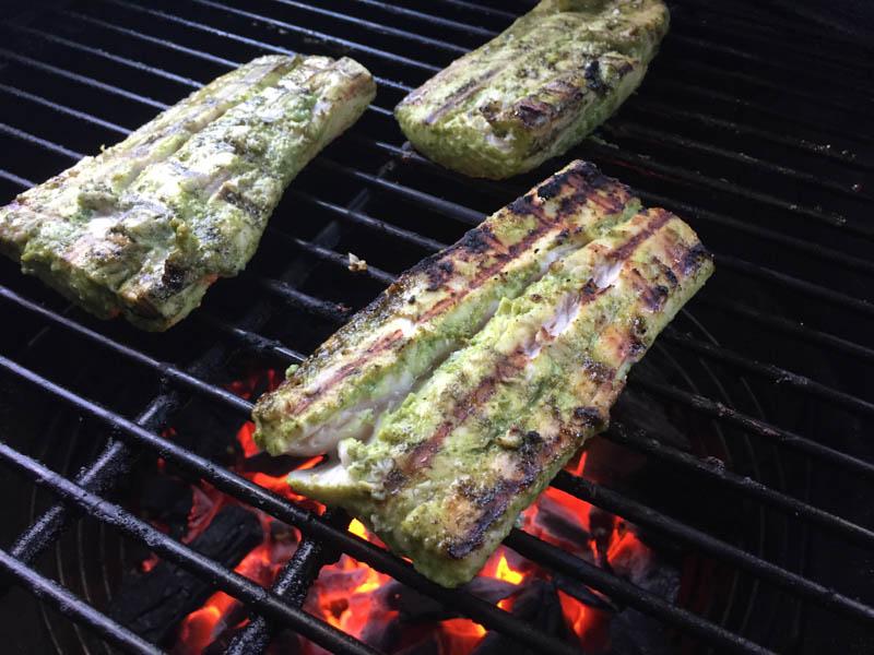 Big Green Egg Fish Tacos