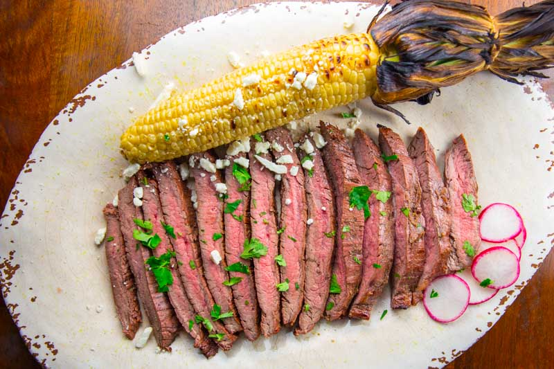 Grilled Tequila Lime Flank Steak