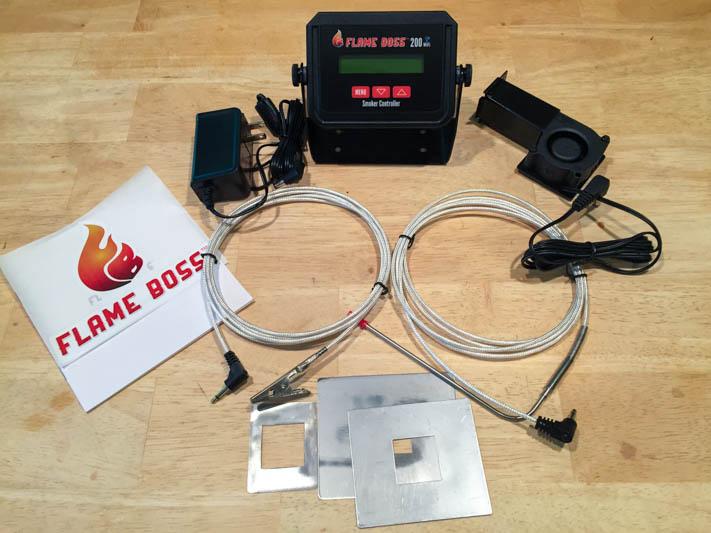 Flame Boss 200 WiFi Kamado Smoker Controller