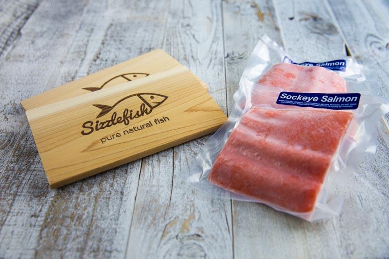 Sizzlefish Asian Glazed Sockeye Salmon