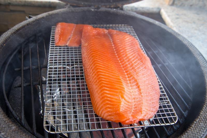Big Green Egg Cold Smoked Salmon