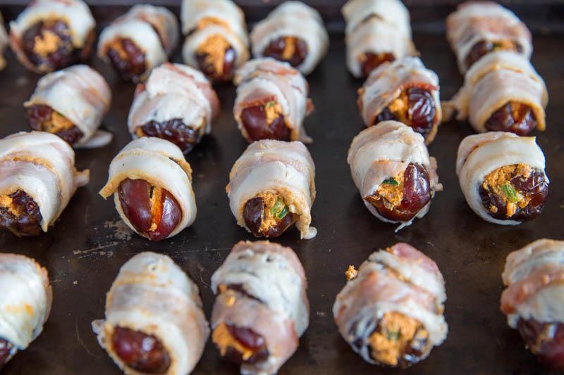 Bacon Wrapped Dates aka Buddha Bites