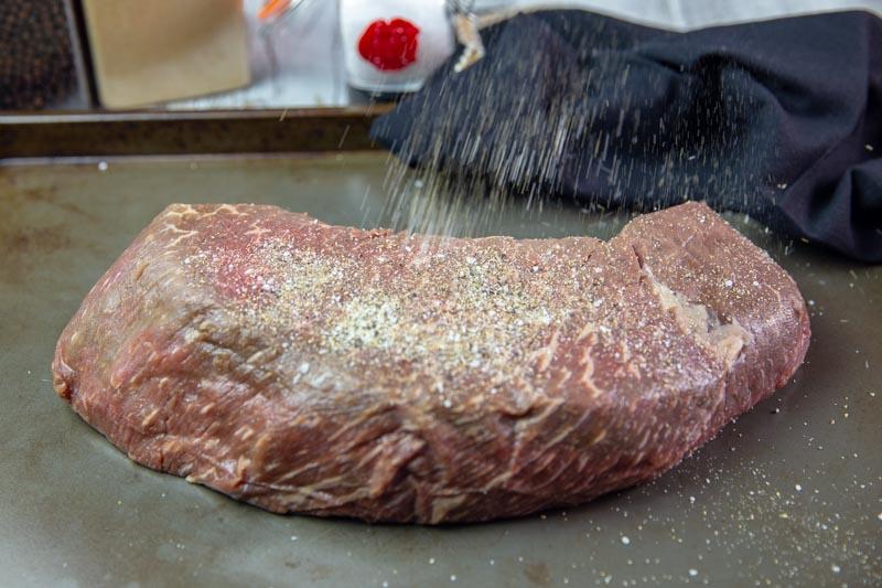Homemade Top Round Roast Beef