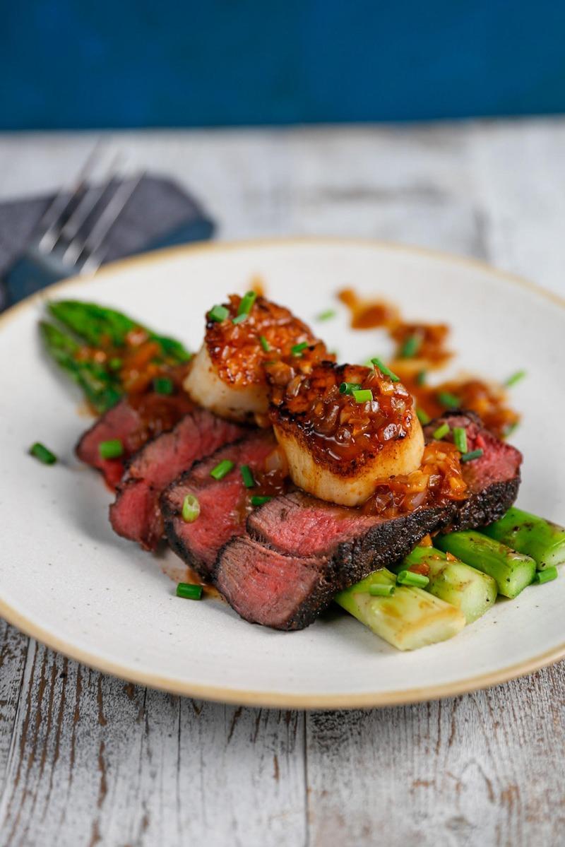 Manhattan Scallops -- scallop recipes