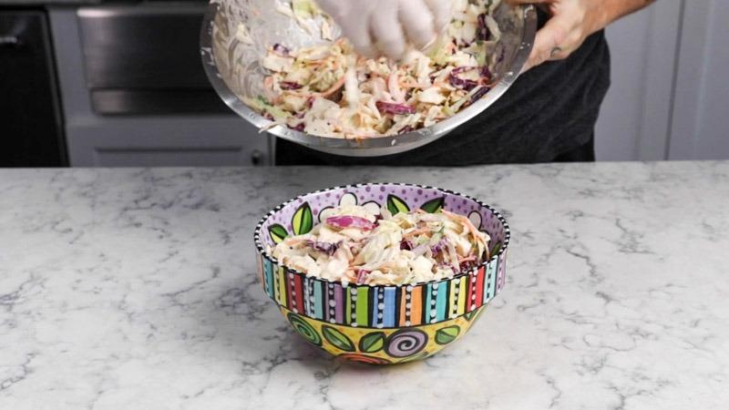 The Best Creamy Coleslaw Recipe