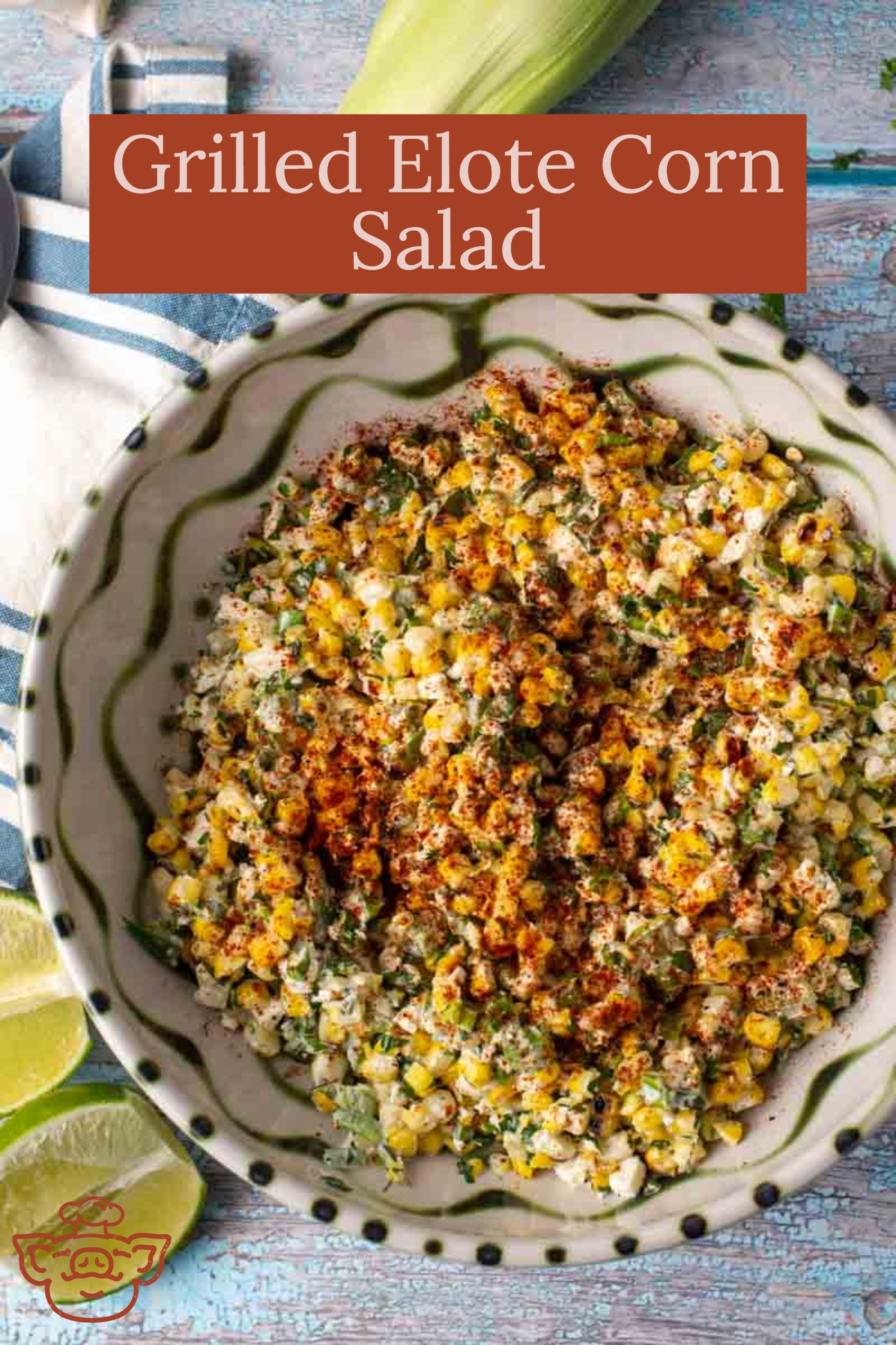 Grilled Elote Corn Salad