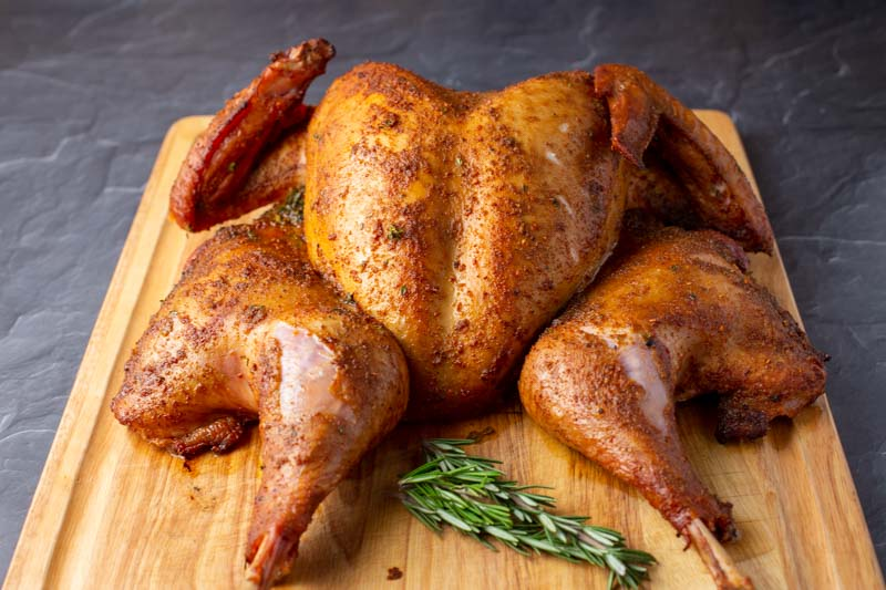 Big Green Egg Spatchcock Turkey