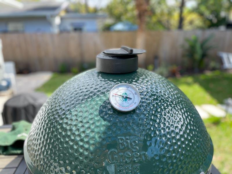 Big Green Egg 300°F